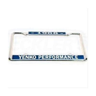 Yenko Performace License Frame, 1968