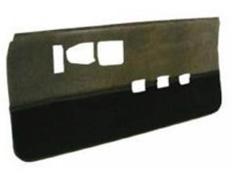 Camaro Door Panels, With Cut-Pile Carpet, Unassembled, Vinyl, 1986-1992