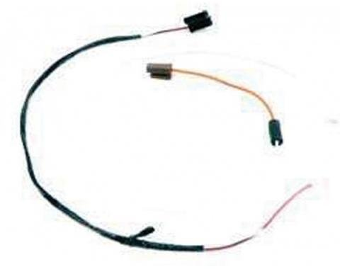 Firebird Wiring Harness, Dash-Mounted Tachometer, Tach To Coil, 1969