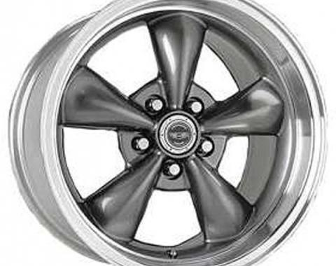 Firebird Torq-Thrust M Wheel, 17 x 9, Aluminum, Painted Black, American Racing, 1993-2002