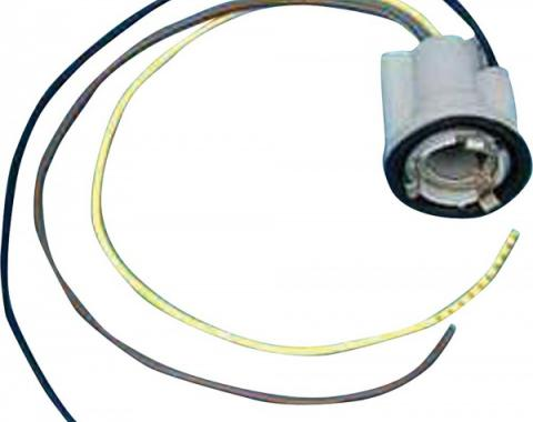 Camaro Taillight Socket, With Wiring Pigtail, 1969-1981