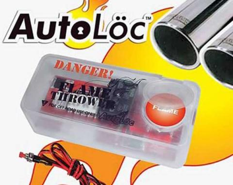 Camaro Autoloc Flame Thrower Kit, Dual Exhaust, 1967-2014