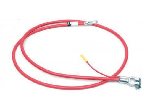 Firebird Battery Cable, Positive,  With 250 c.i. Engine, 1974