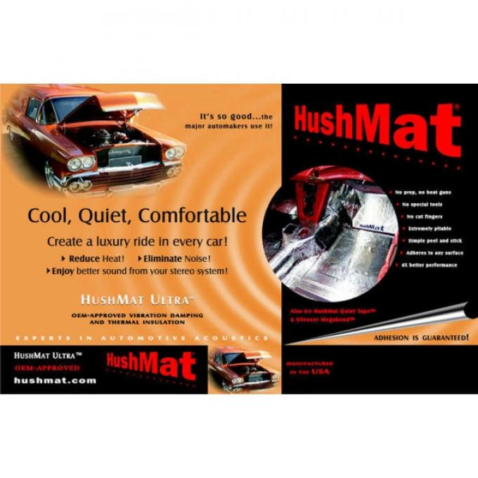 Hushmat Ultra Insulation, Roof, For Full Size Chevy & GMC Truck Including Extended & Crew Cab, 1947-2014
