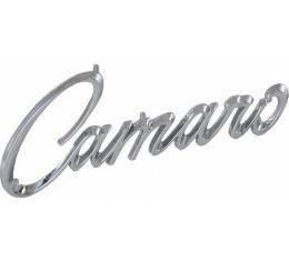 Camaro Front Fender Emblem, 1968-1969