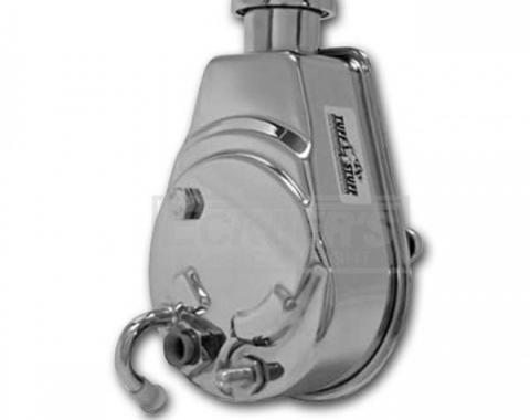 Firebird Power Steering Pump, Chrome, 1967-1974