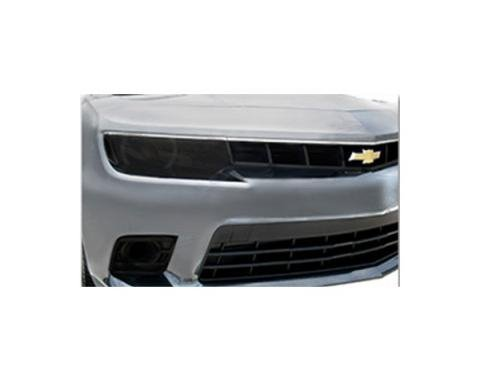 Camaro Fog Light Covers, Smoked Or Carbon Fiber, SS Models, 2014-2015