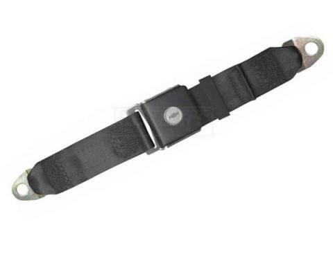 "Seatbelt Solutions 1967-1972 Camaro Lap Belt, 60"" with Bowtie Lift Latch, Rear"
