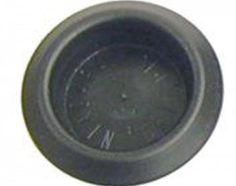 "Firebird Body Plug, 1"", Plastic, 1967-1969"