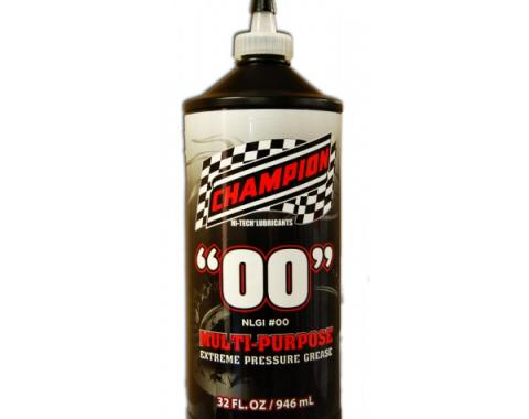 "Champion ""00"" Manual Steering Box Grease"