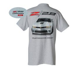 Camaro T-Shirt, Z/28 Performance Legacy, White