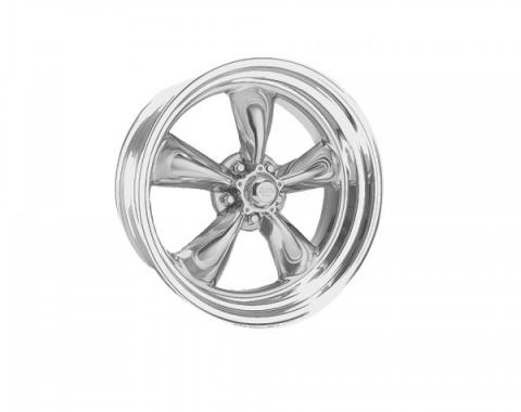 Chevy American Racing Torq Thrust II Wheel, Polished Aluminum, 14X6
