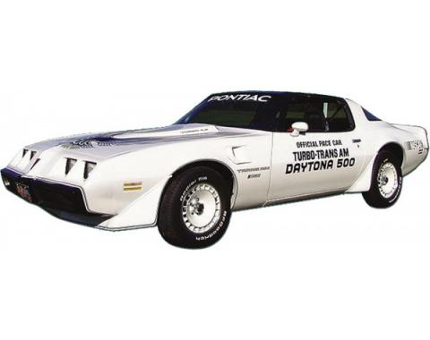 Firebird Decal Set, Silver, Trans Am, Turbo, Indy Pace Car, 1981