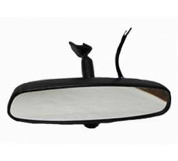 Camaro Standard Rear View Mirror, With Reading And Map Lights, 2001-2002