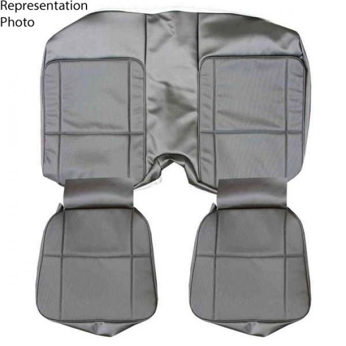Distinctive Industries 1980-81 Camaro Standard Coupe Rear Seat Upholstery 073170