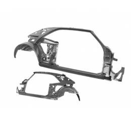 Camaro Coupe Quarter Door Frame Assembly, Right Hand Side, 1968