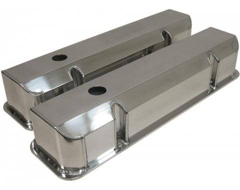 Firebird Valve Covers, V8, Fabricated Aluminum, 1967-1979