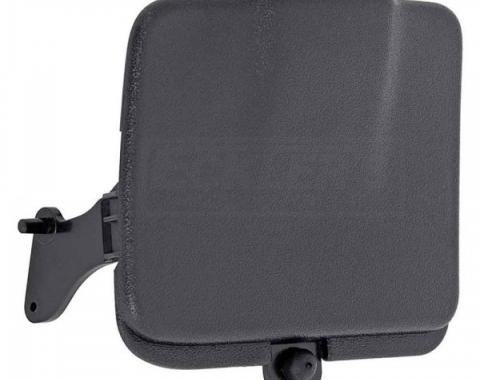 Firebird Console Ashtray Lid, For Cars With Six Speed Manual Transmission, Ebony, 2000-2002