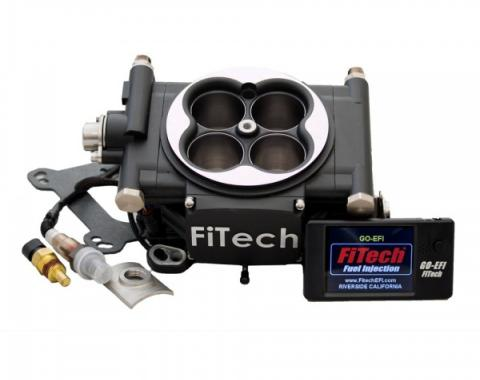 FiTech Fuel Injection 600 HP Basic Kit,  Matte Black
