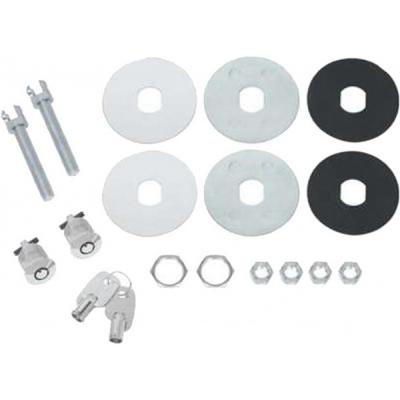 High Security Locking Hood Pin Set
