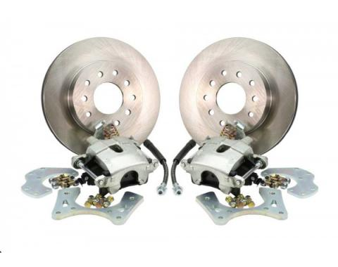 Rear Disc Brake Conversion Kit, Basic, Non-Staggered Shocks, Without C Clip Rear End, 1967-1969