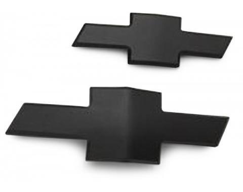 Camaro Emblems, Black Bowtie, Front & Rear, 2010-2013