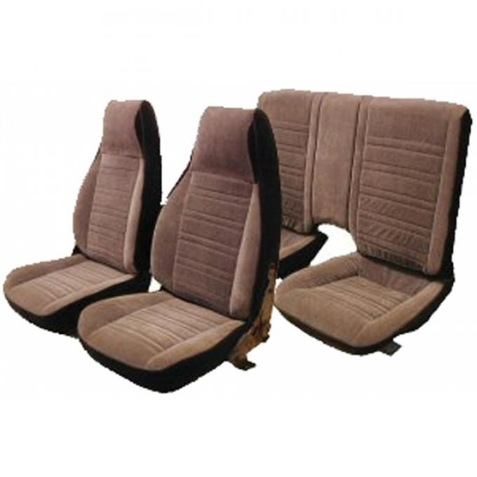 PUI 1982-1985 Chevrolet Camaro Bucket Front Seat Covers 82FSCU
