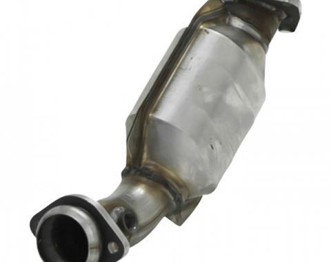 Camaro Catalytic Converter, V8, 2.25in Inlet & Outlet, Driver Side, 1998-2002