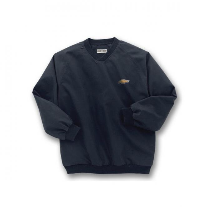 Chevy Jacket, Microfiber Windbreaker, Black