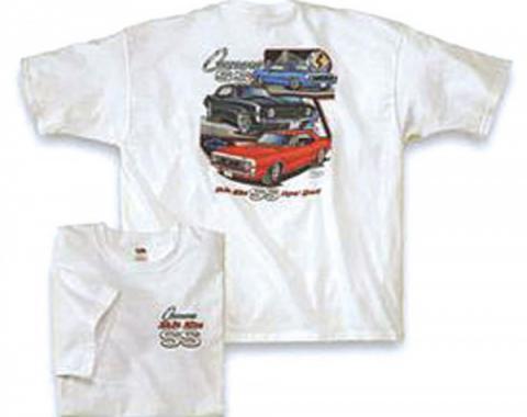 Camaro T-Shirt, White, Make Mine SS