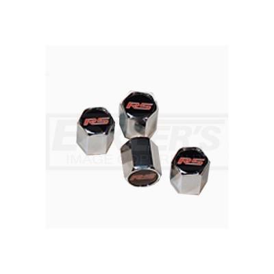 Camaro Valve Stem Caps, RS, 2010-2014