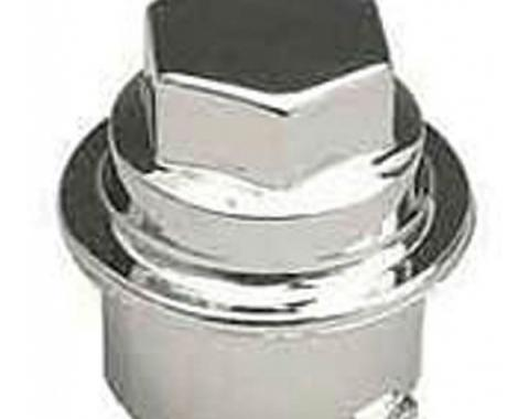 Camaro Wheel Lug Nut Cap, Chrome, 1993-2002