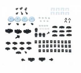 Front End Fastener Kit, Rally Sport, Stainless Steel, 1967-1968