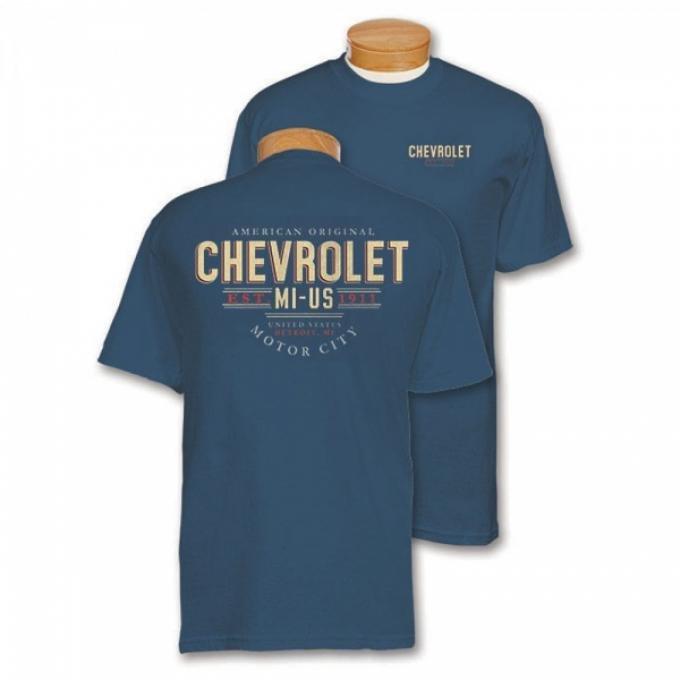 Blue Dusk American Original Motor City T-Shirt