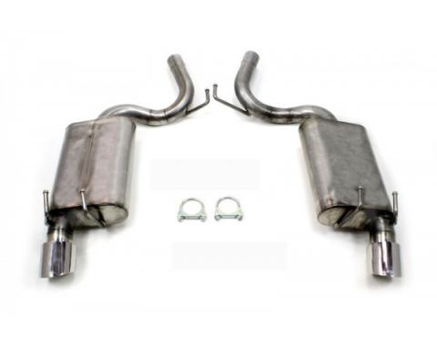 Camaro Exhaust Kit, Axle Back, Stainless Steel, V6, 2010-2014