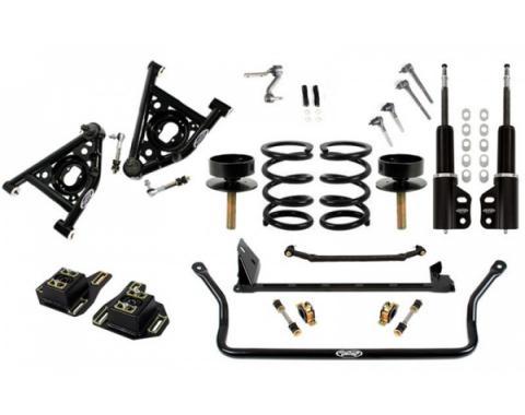 Camaro Front End Suspension Speed Kit 3, Double Adjustable Shocks