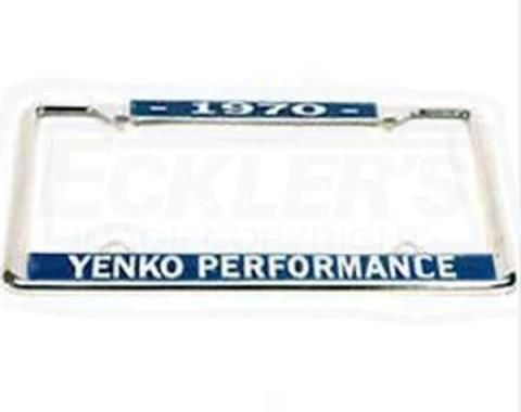Yenko Performance License Frame, 1970