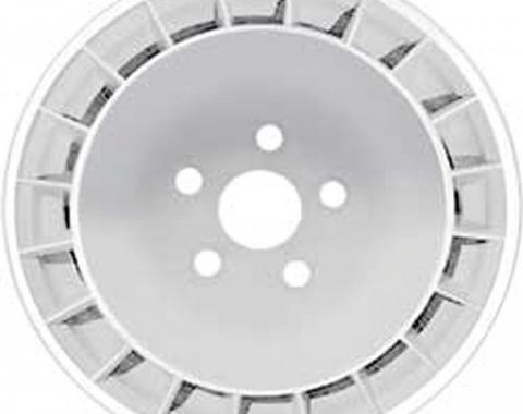 "Firebird Wheel, Silver, 15"" x 8"", 1979"