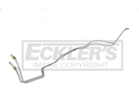 Firebird Transmission Cooler Line, T350 Or T400, 5/16 Inch, Stainless Steel 1980-1981
