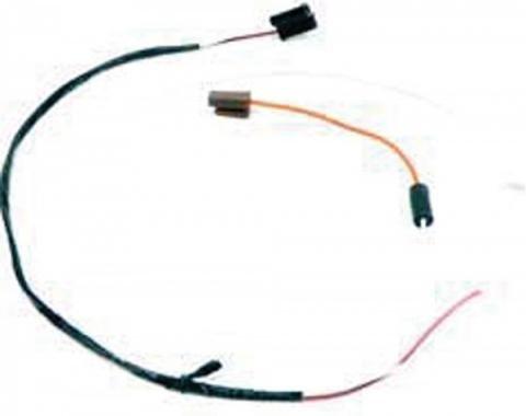 Firebird Wiring Harness, Dash-Mounted Tachometer, With HEI Distributor, 1974-1978