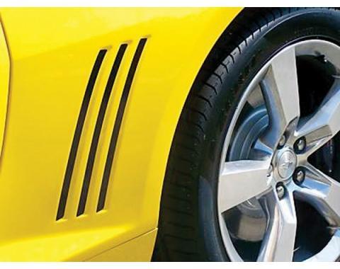 Camaro Quarter Panel Vent Blackouts, 2010-2014