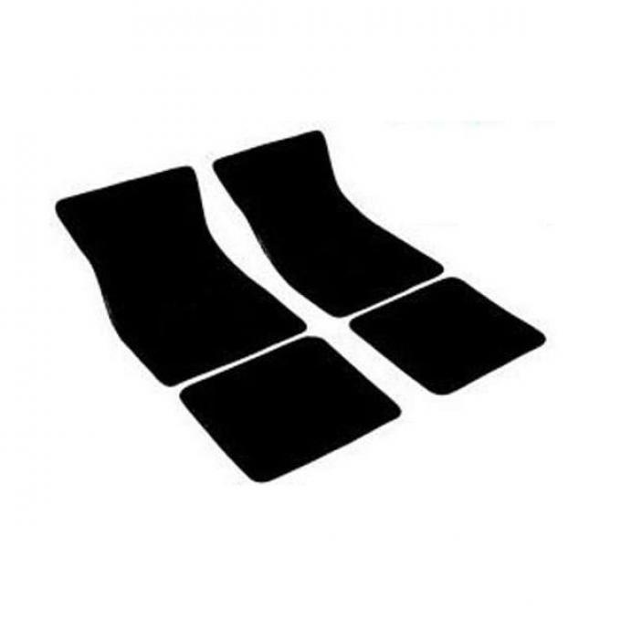 Auto Custom Carpets, Carpet Floor Mat Set, 80 / 20 Loop, Plain, Non Embroidered| 10293 Camaro 1967-1969