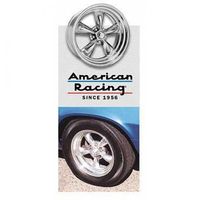 Camaro Torq-Thrust II Wheel, 17 x 8, Aluminum, American Racing, 1967-1969