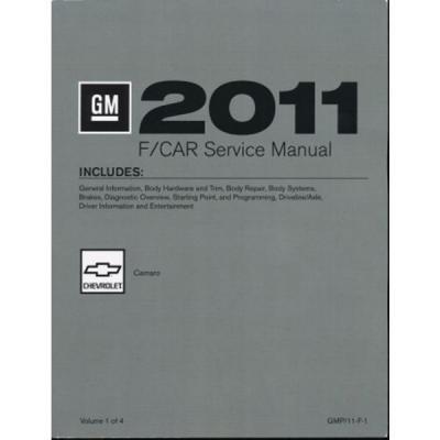 Camaro Service Shop Manual, 2011