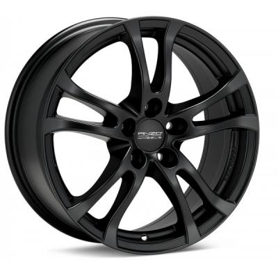 Camaro Anzio Turn Wheel Rim, Black Painted 18x8, 2010-2015