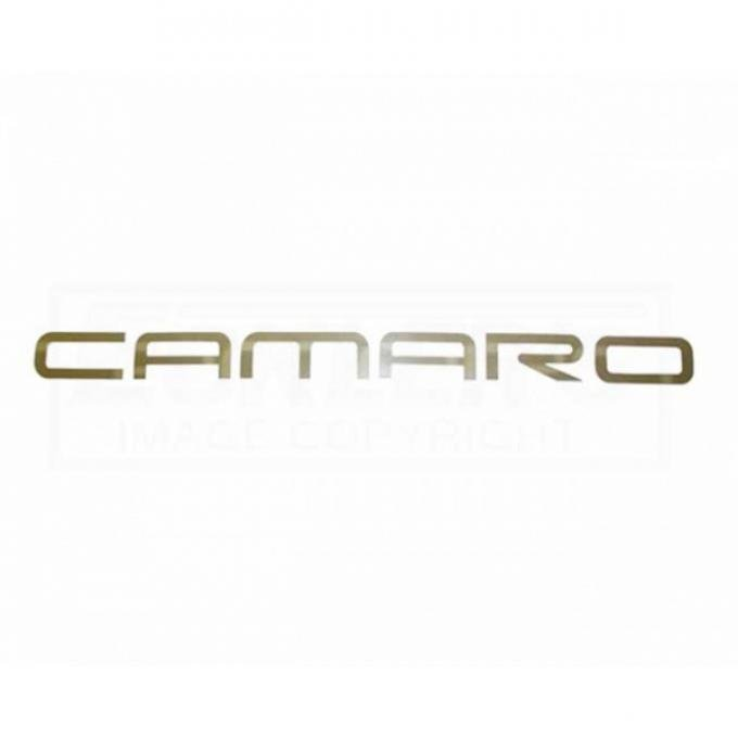 Camaro Rear Bumper Letters, CAMARO, Polished Stainless, 1993-2002