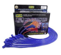 Nova Taylor Plug Wires, Spiro-Pro Custom, Blue, Big Block, 1969-1972