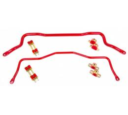 UMI Performance 355mm Front And 22mm Rear Sway Bar Kit | 211213-B Camaro 1982-02