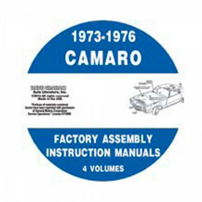 Assembly Manuals, CD-ROM, 1973-1976