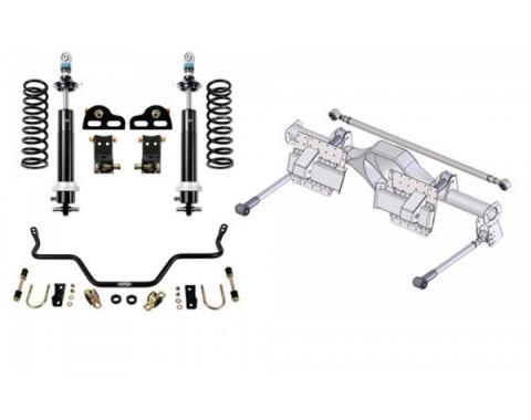 Camaro Speed Kit 3, Rear, With Single Adjustable Shocks, 1982-1992